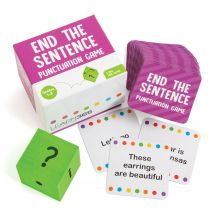 End the Sentence Punctuation Game