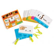 Vowel Team Clip Cards Set