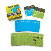 Dry Erase Order of Operations Cards