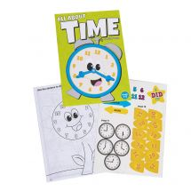 All About Time Sticker Activity Books