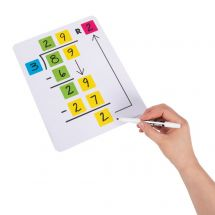 Division Dry Erase Boards