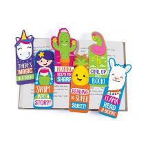 Fun Shaped Laminated Bookmarks
