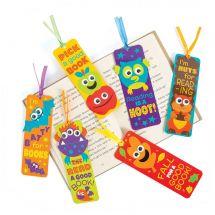 Googly Eye Laminated Bookmarks