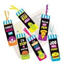 Laminated Funtastic Foods Bookmarks