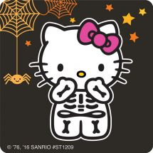 75 Hello Kitty Halloween Stickers
