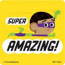 Amazing Superhero Stickers