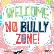 No Bully Zone Stickers