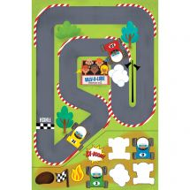 Race Track Sticker Play Scenes
