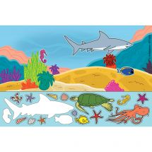 Sea Life Sticker Play Scenes