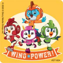 Top Wing Team Stickers
