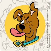 Scooby Doo Puppy Stickers
