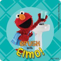 Sesame Street Brushing Stickers