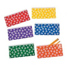 Paw Print Mask Keeper Pouches