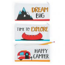 Adventure Canvas Mask Keeper Pouches