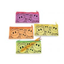 Smiley Face Mask Keeper Pouches