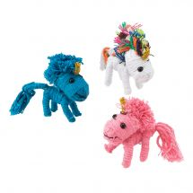 Unicorn String Dolls