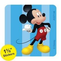 Mickey & Minnie Mouse ValueStickers