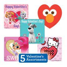 Valentine's Sticker Sampler