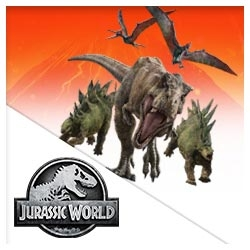 Jurassic World Stickers