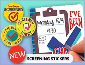 Screening Stickers