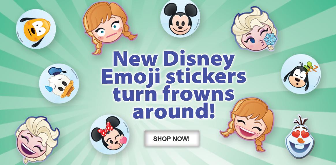 NEW Disney Emoji stickers!