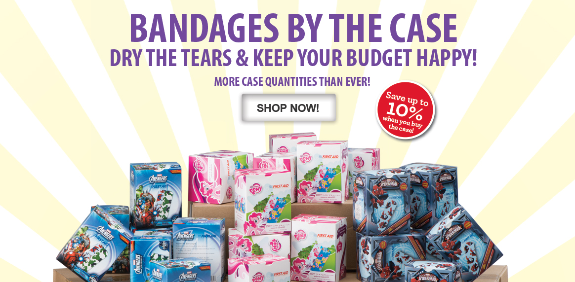 Save up to 10% on Character Bandages!