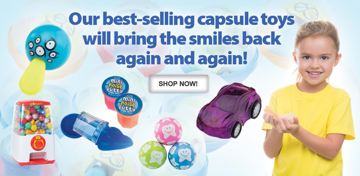 Capsule Vending Machines & Toys!