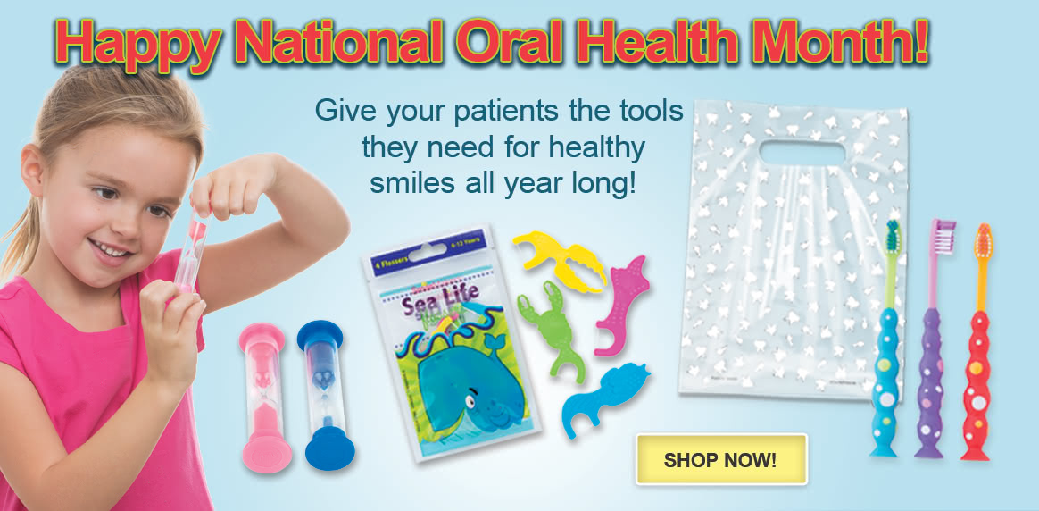 Happy National Oral Health Month!