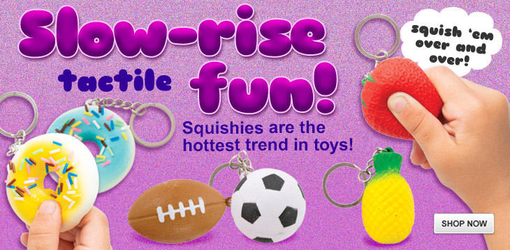 New! Slow Rise Squishies!