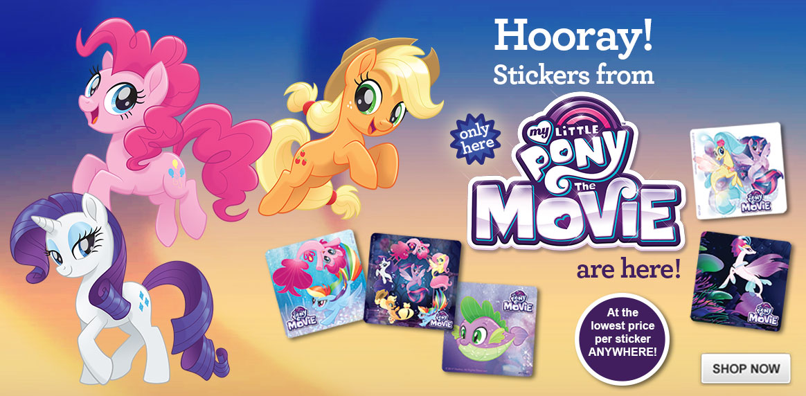 Exclusive My Little Pony The Movie Stickers!