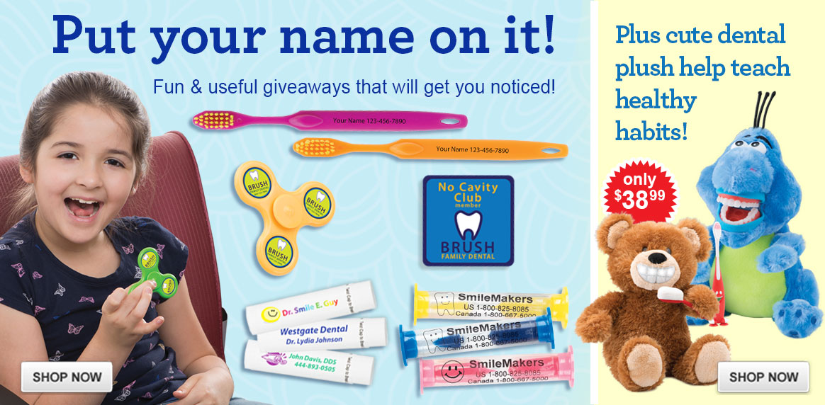 Get Ready for Dental Health Month with Custom Giveaways