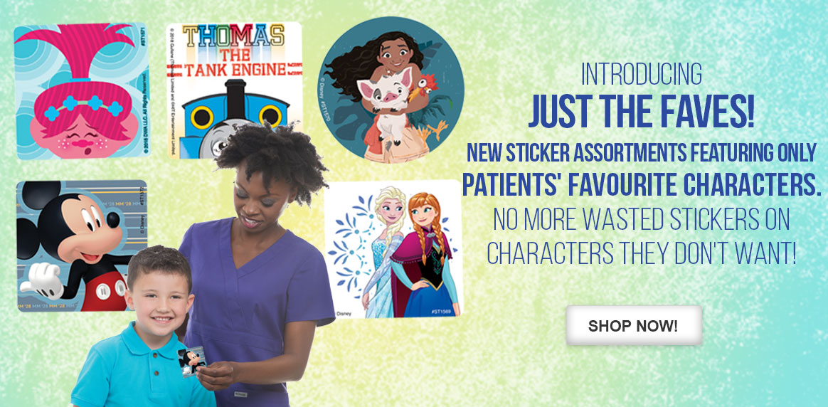 NEW! Just the Faves Sticker Assortments!