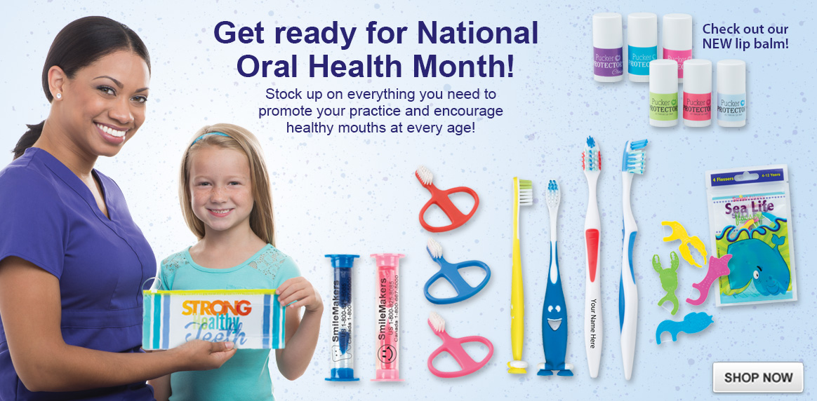 Oral Health Month is on the way!