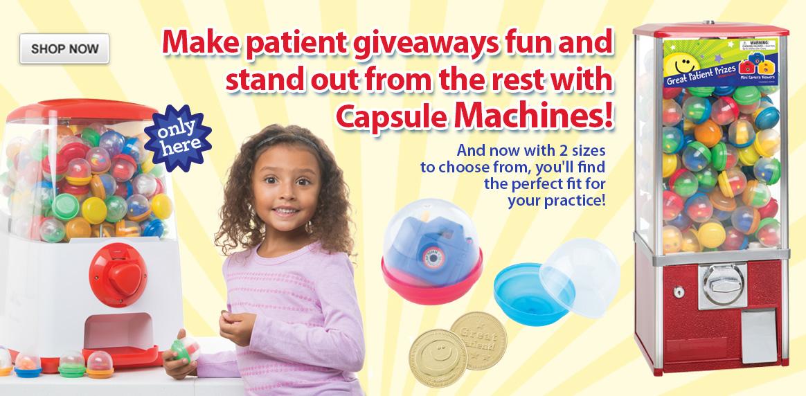 Capsule Machines!