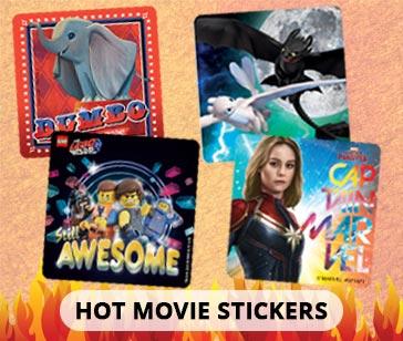 Hot Movie Stickers