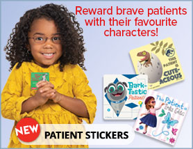 New Patient Stickers