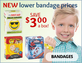 New Lower Bandage Prices