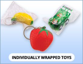 Individually Wrapped Toys
