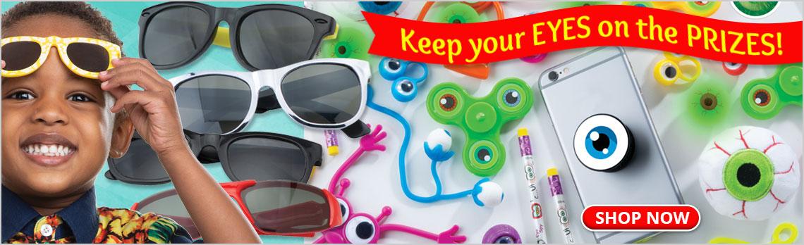 Eye-Themed Toys