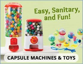 Capsule Toys & Machines