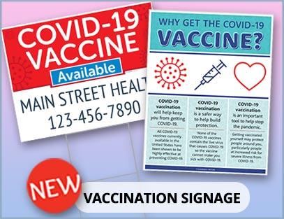 Vaccination Signage