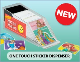 New Sticker Dispenser