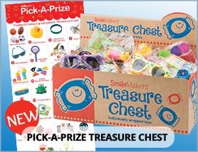 Pick a Prize Treasure Chests