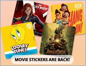 Hit Movie Stickers