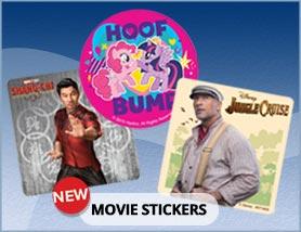 New Movie Stickers
