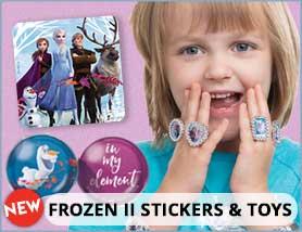 Frozen II Stickers & Toys