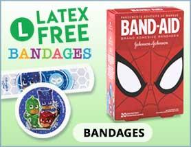 Latex-Free-Bandages
